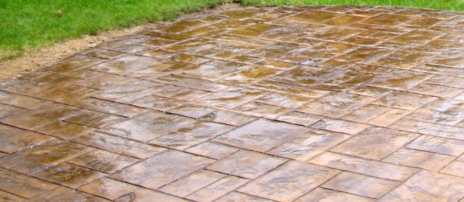 Decorative Stamped Concrete<a href='http://www.downrangeconstruction.com/projects/stamped-concrete/' class='button button_white'>Previous Projects</a>